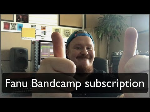 Bandcamp subscription for Fanu