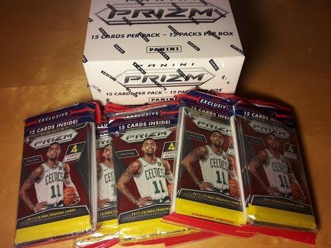 Panini 2017-18 Prizm Basketball Cello Box Break: HOTTEST. BOX. EVER.