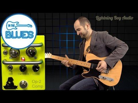 Lightning Boy Audio OP-2 Tube Compressor Pedal