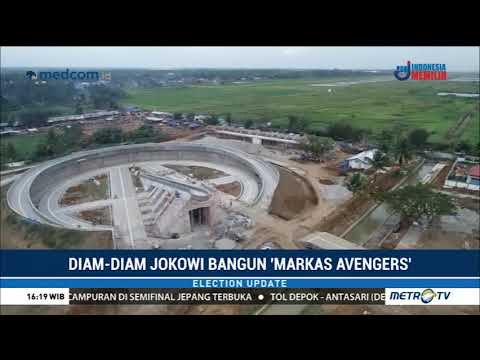 Jokowi Diam-Diam Bangun 'Markas Avengers'