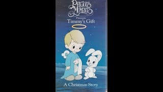 Opening To Precious Moments:Timmy's Gift 1999 VHS