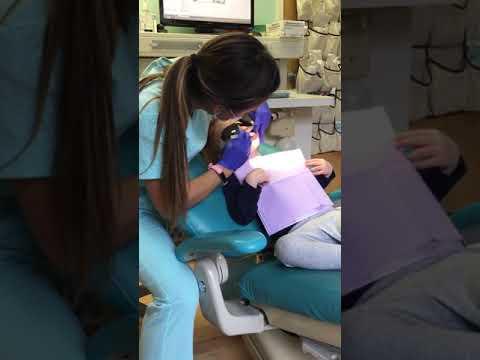 Emma's second dentist visit