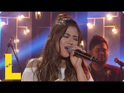 "Morissette sings ""Someone's Always Saying Goodbye"" on MYX Live!"