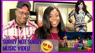 Demi Lovato - Sorry Not Sorry REACTION   BEECHER DYNASTY REACTS