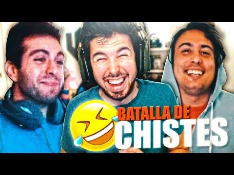 BATALLA DE CHISTES con Vegetta y Fargan