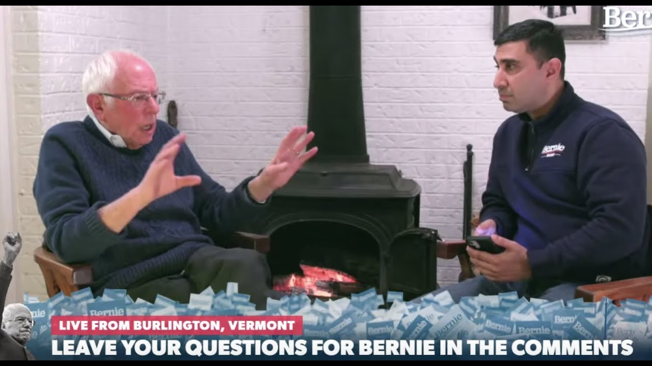 FIRESIDE CHAT WITH BERNIE