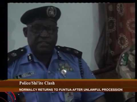 Police And Shi'ite Clash In Funtua, Kastina State