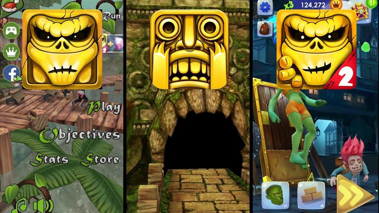 Zombie Run HD Vs Temple Run Vs Zombie Run 2 – Monster Runner Game – Endless Run Gameplay