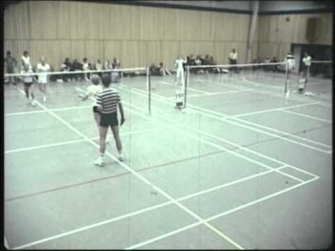 Badminton - Landsstævne 1981 i Slagelse