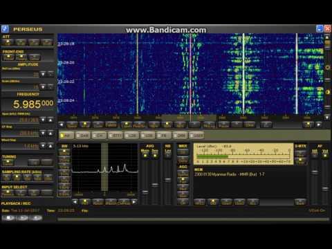 Myanmar Radio 5985kHz