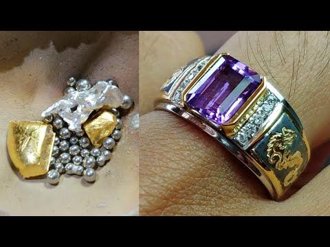 how make custom jewelry - gold rings for men