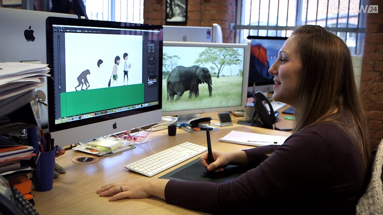 Our Design Team On Working With Wacom Intuos Pro Youtube