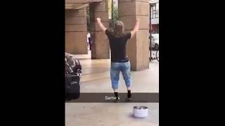 London Busker still charging from the weekend