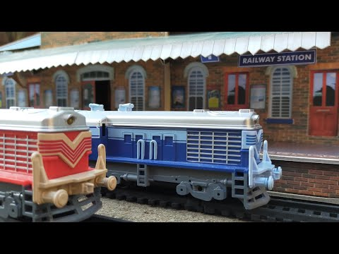 The Railway Station with Indian Railway Trains Tour
