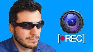 Testei um Óculos ESPIÃO com Câmera Escondida!! ( Vlad Espião )