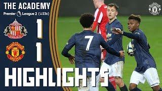 U23s Highlights | Sunderland 1-1 Manchester United | Premier League 2