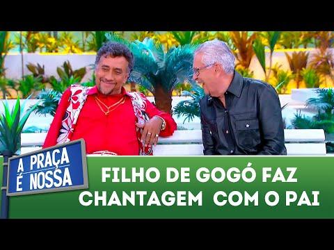 Filho de Gogó faz chantagem com o pai | A Praça é Nossa (23/08/18)
