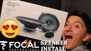 Installing NEW FOCAL SPEAKERS In My Mustang Gt ! THEY SOUND AWESOME