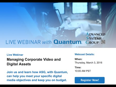 Managing Corporate Video and Digital Assets