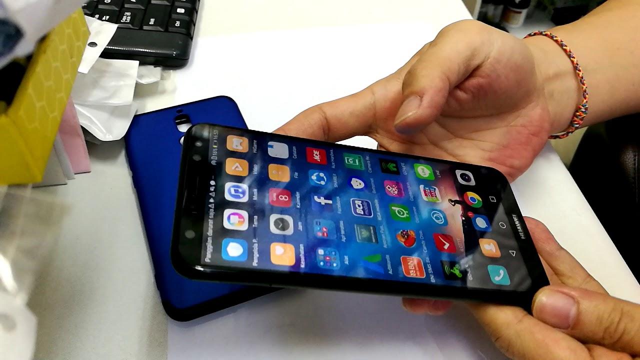 brand new a40ea 3c0d2 Huawei Nova 2i tempered glass full cover with case 360 protect nova 2i