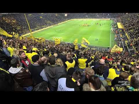 Borussia Dortmund vs Eintracht Frankfurt Südtribune party 2