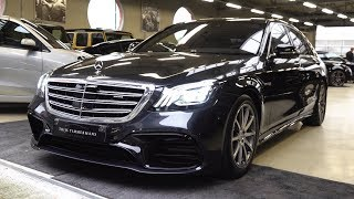 2018 Mercedes S Class AMG S63 Long - NEW Full Review 4MATIC + Interior Exterior Infotainment