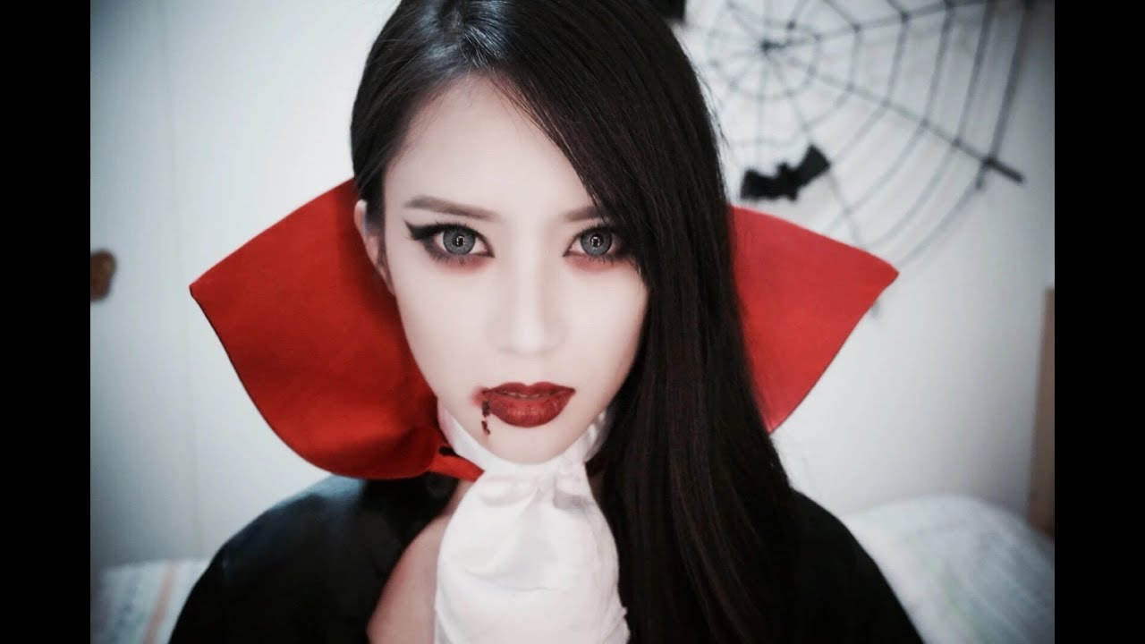 Sexy Vampire✞Halloween Makeup - YouTube