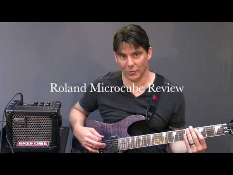 Roland Microcube Amp Review and Demo-Electric Guitar Micro Cube