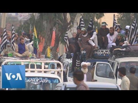 Anti-Government Protest Caravan Reaches Pakistan Capital