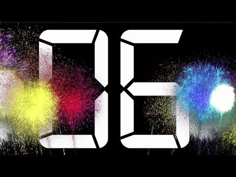 HAPPY NEW YEAR COUNTDOWN 2018 ( v 72 ) 30 sec Timer with Sound effect and voice 4k