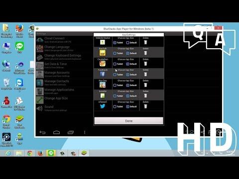 วิธีเล่นเกมมือถือ บน PC ด้วย Blue Stacks