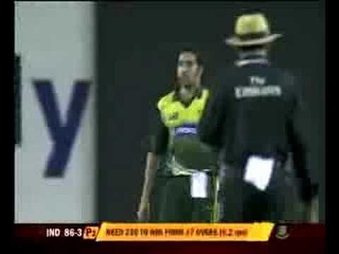 Yousuf Pathan Abuses to Umar Gul
