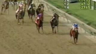Smarty Jones - 2004 Preakness Stakes (Dave Rodman's Call)
