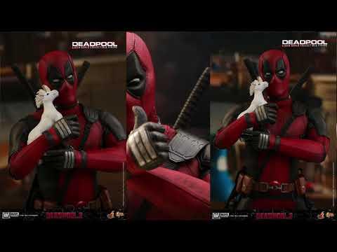 Deadpool 2 Hot Toys Deadpool 1/6 Scale Movie Figure Reveal!