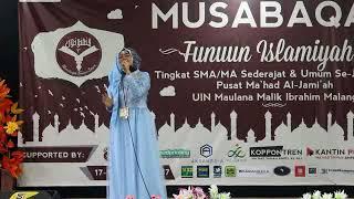 Kekasih Mu Fatin Shidqia (covered by Heffy santri Bayt Al-Hikmah Pasuruan)