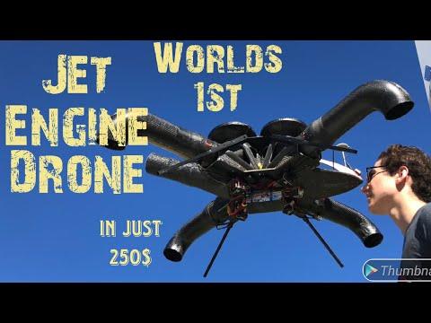Jet Engine Drone