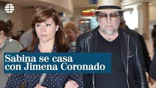Joaquín Sabina Se Casa Con Jimena Colorado