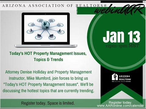 Property Management Trends 1.13.16