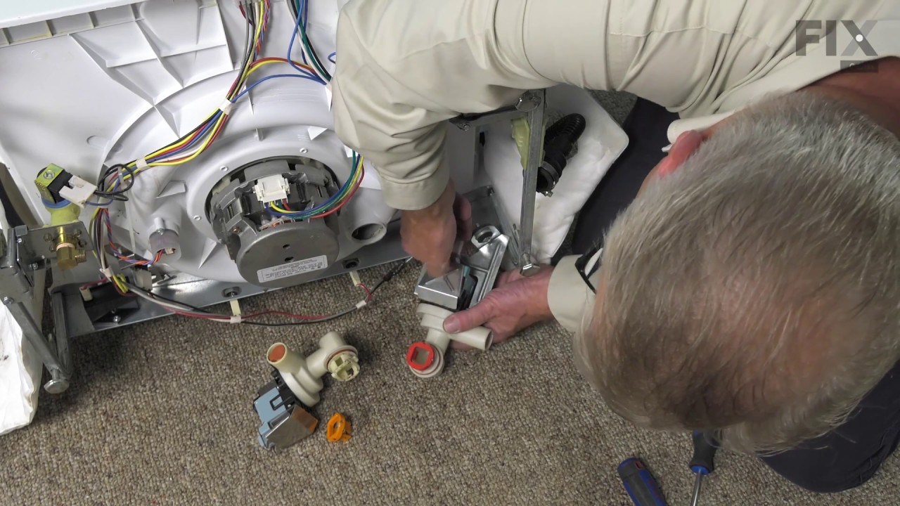 Maytag Dishwasher Repair How To Replace The Drain Pump