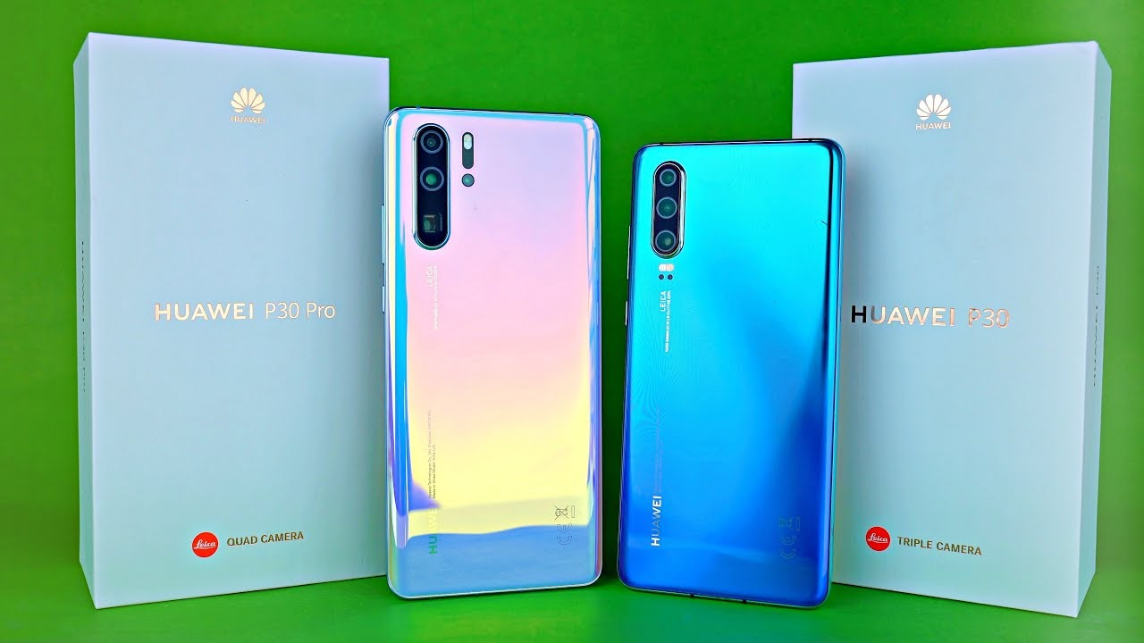 Huawei P30 Pro P30 Crystal Beauty Unboxing First Look