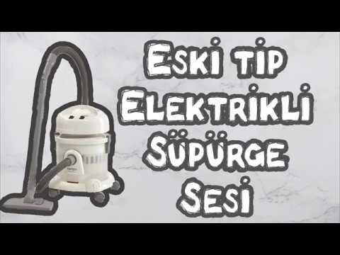 Eski Tip Elektrikli Süpürge (1,5 Saat)