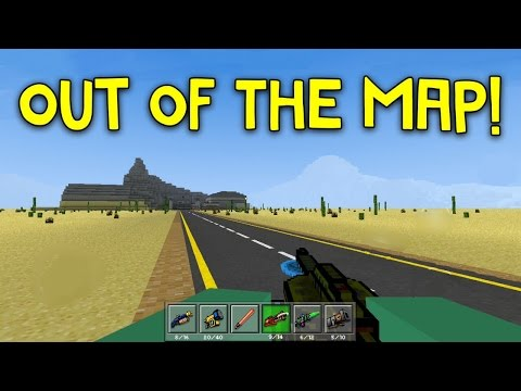 Pixel Gun 3D - Out Of The Map: Area 52 Labs!