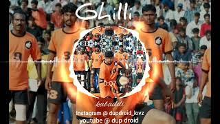 vijay - whatsapp bgm status # gilli kabaddi theme song