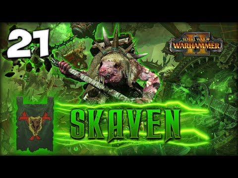 PLAGUE IN THE MOUNTAINS! Total War: Warhammer 2 - Skaven Campaign - Lord Skrolk #21
