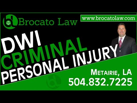 DWI Lawyer New Orleans - Brocato Law