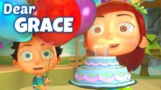 Happy Birthday Song to Grace