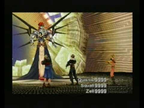 Final Fantasy 8 Adel Disc 4 Boss 1 YouTube