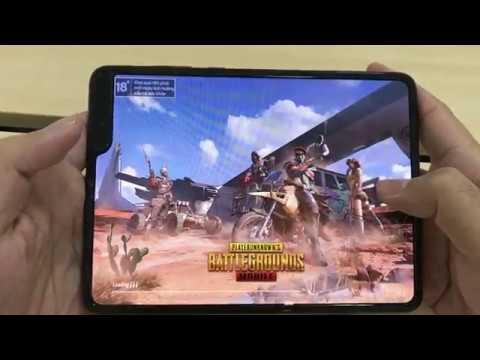 Test Game PUBG Mobile Max Settings On Samsung Galaxy Fold