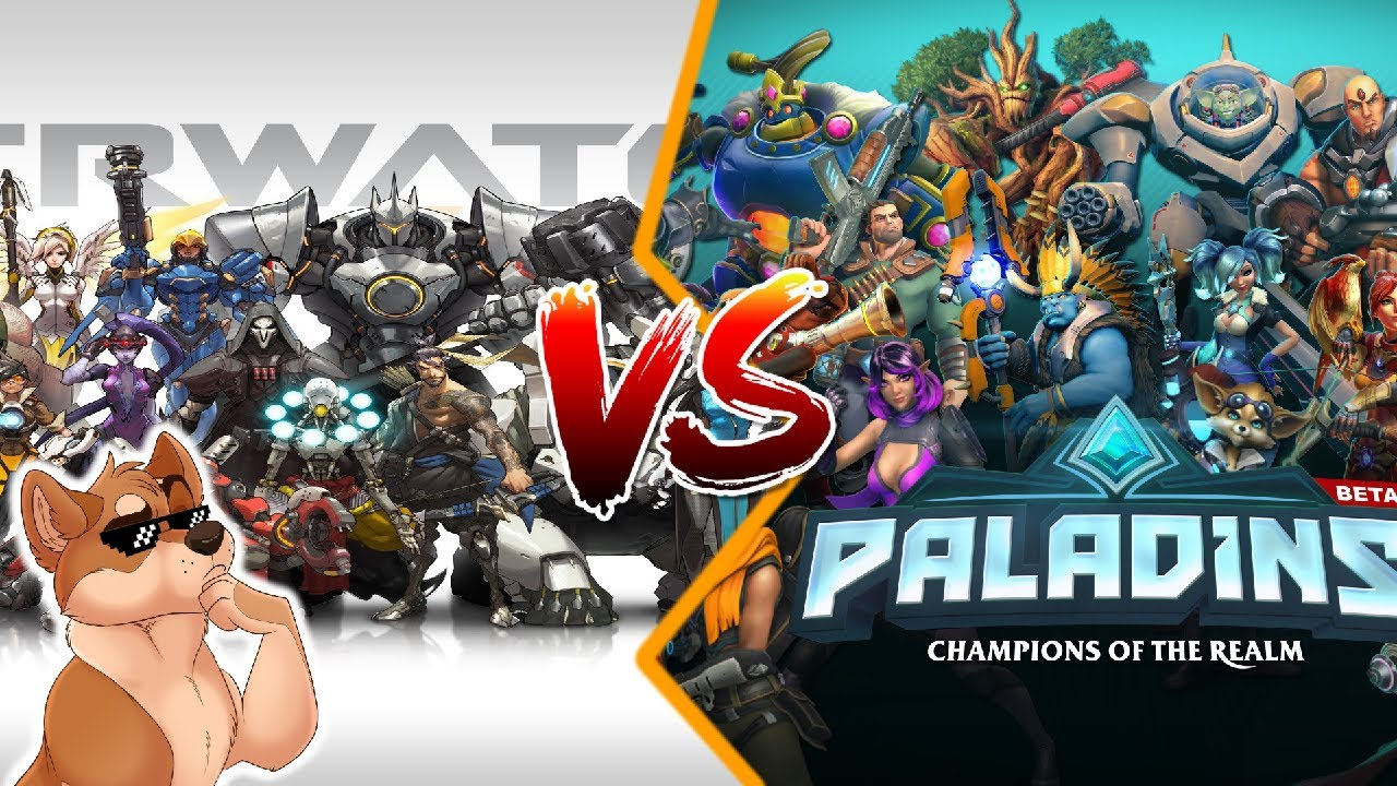 Overwatch Vs Paladins Which Is Better YouTube