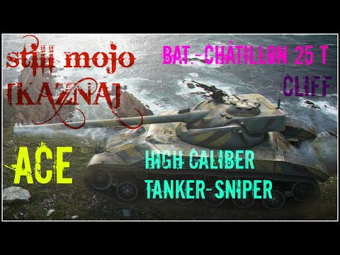 WOT - Bat-Chatillon 25T , High Cal. + Tanker-Sniper - 6.2k Dmg + 3k Assistance by still_mojo [KAZNA]